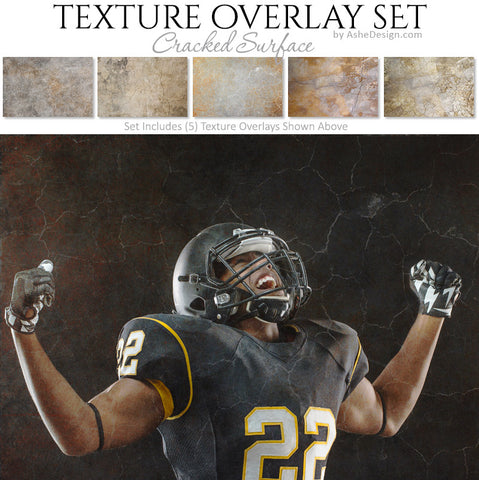 Texture Overlay Set - Cracked Surface