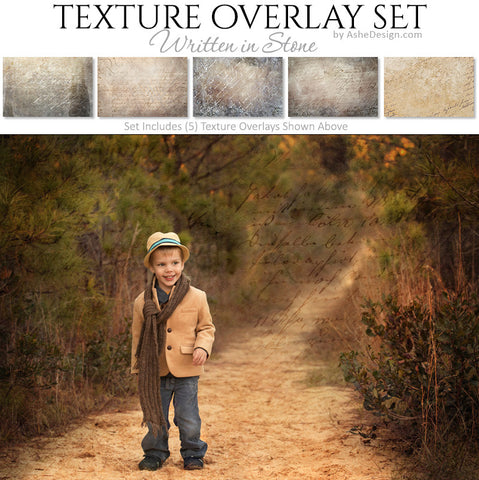 Texture Overlay Set - Written In Stone