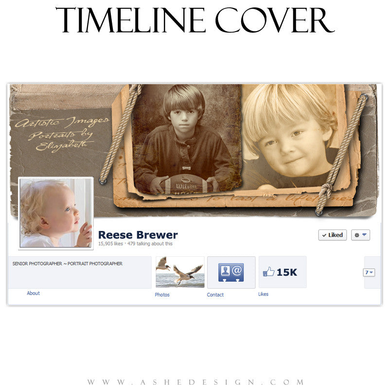 Timeline Cover Design - Tied To The Past