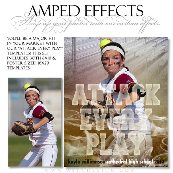 Ashe Design | Sports Amped Effects | Attack Every Play sb