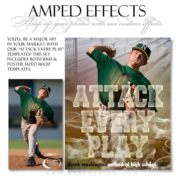 Ashe Design | Sports Amped Effects | Attack Every Play bb