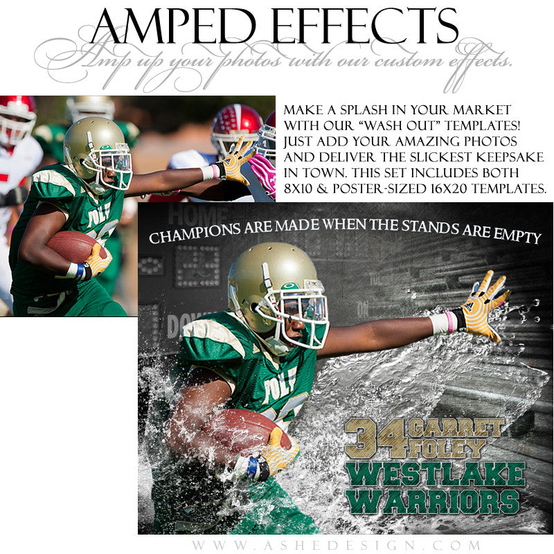 Ashe Design | Amped Effects | Wash Out fb