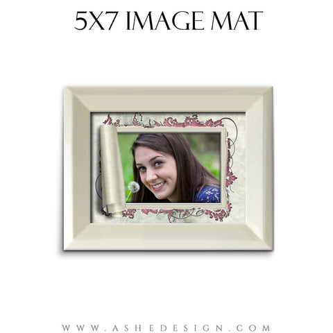 Image Mat (5x7) - Scrolled