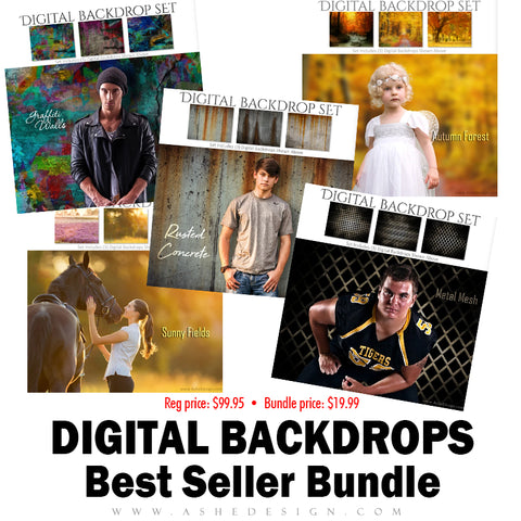 Best Sellers Bundle - Digital Backdrops