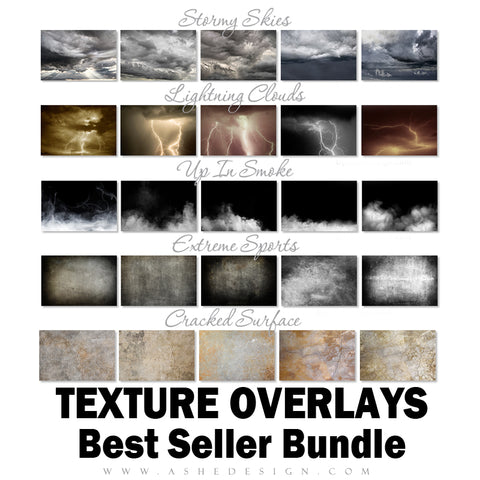 Ashe Design Best Sellers Bundle - Sports Texture Overlays