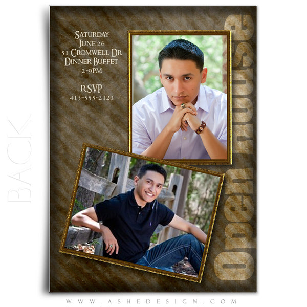 5x7 Flat Graduation Card - Brandon