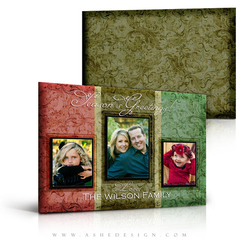 5x7 Flat Christmas Card - Christmas Memories