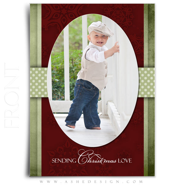 5x7 Flat Christmas Card - Dear Santa