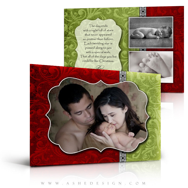 5x7 Flat Christmas Card - Joy