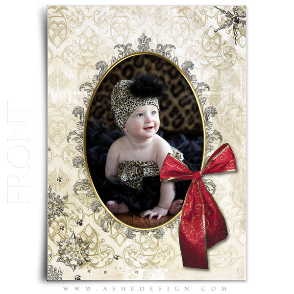 5x7 Flat Christmas Card - Joyful & Triumphant