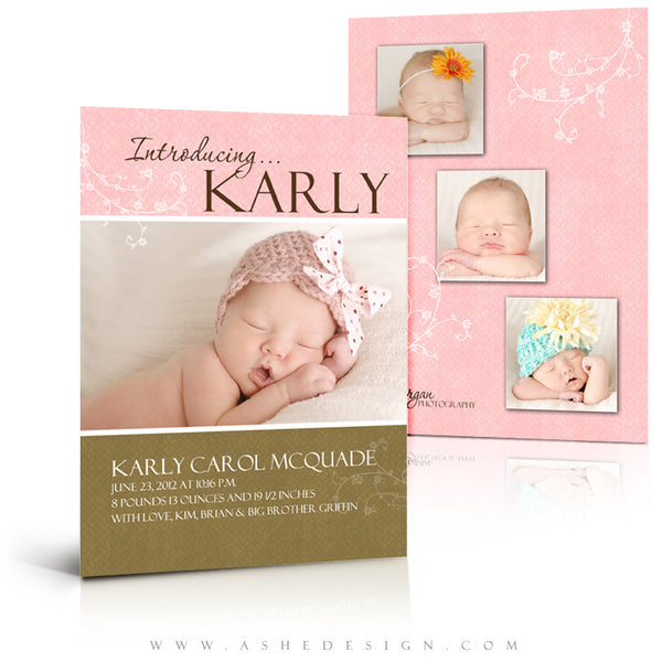 5x7 Flat Card Design - Karly Carol