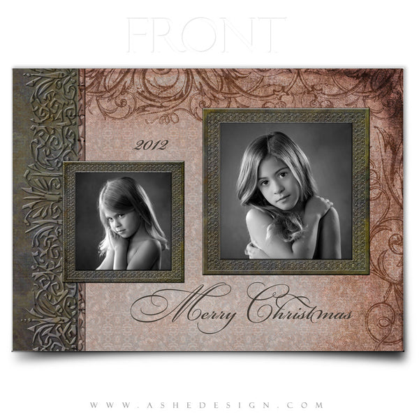5x7 Flat Christmas Card - The Night Before Christmas
