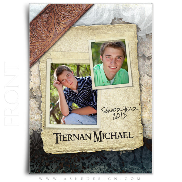 5x7 Flat Card Design - Tiernan Michael