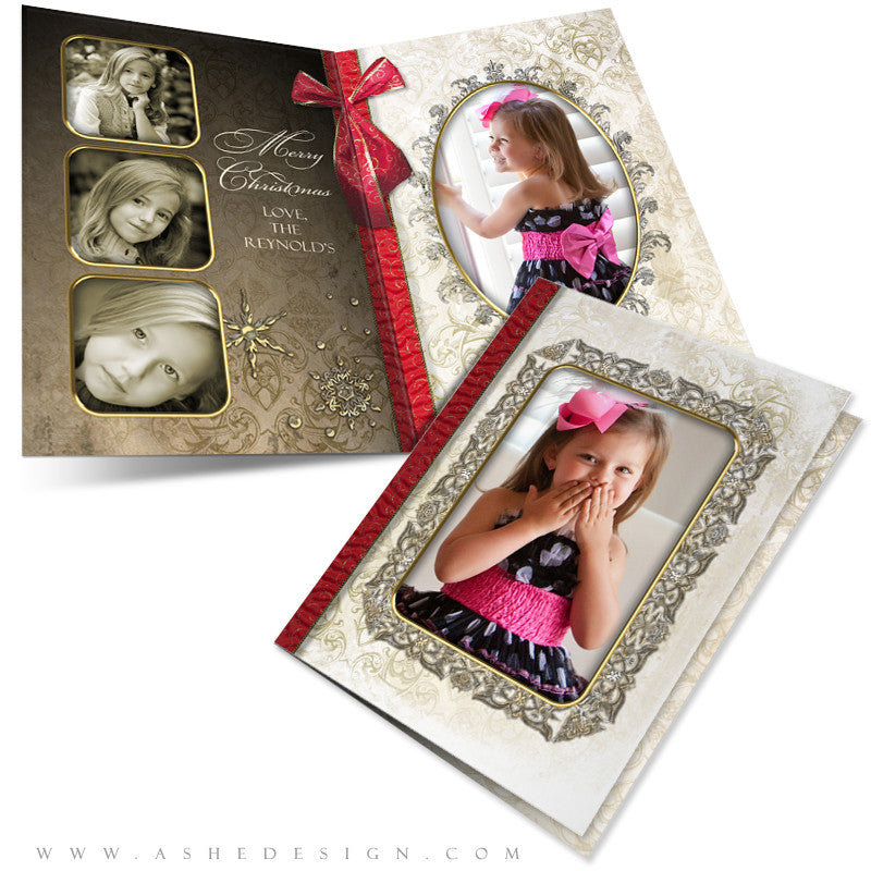5x7 Folded Card Design - Joyful & Triumphant