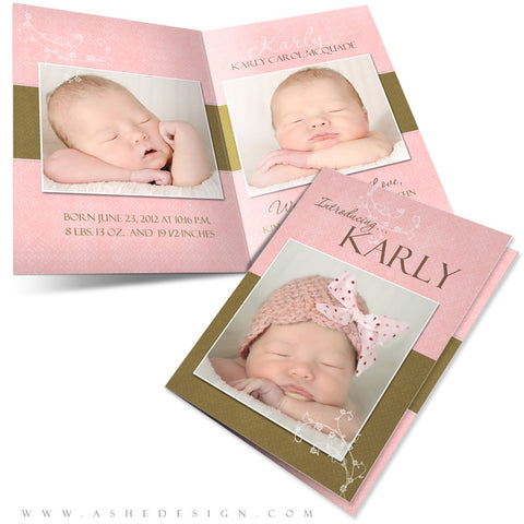 5x7 Folded Card Design - Karly Carol