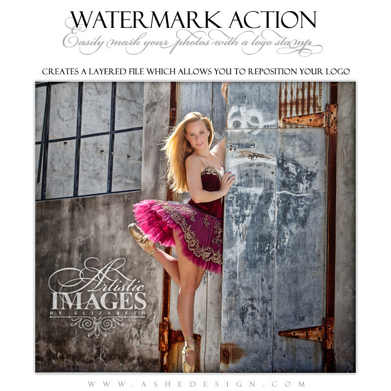 Photoshop Action - Watermark
