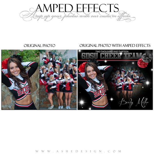 Amped Effects - Cheerleading