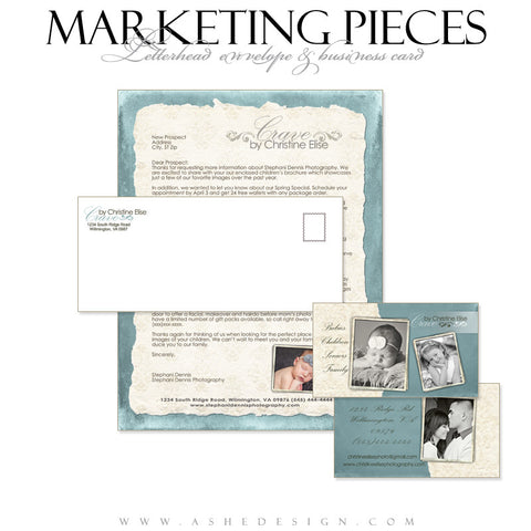 Business Card & Letterhead Set Designs - Soul Mate