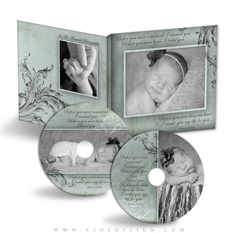 CD/DVD Label & Case Design Set - A Mother's Love