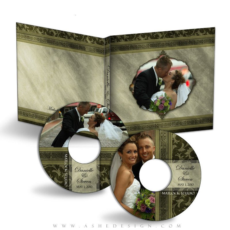 CD/DVD Set | Elegant Brushed Grunge
