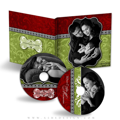 CD/DVD Label & Case Design Set - Joy