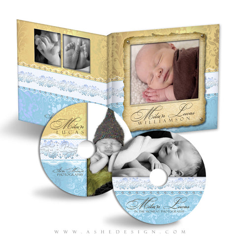 CD/DVD Label & Case Design Set - Milan Lucas