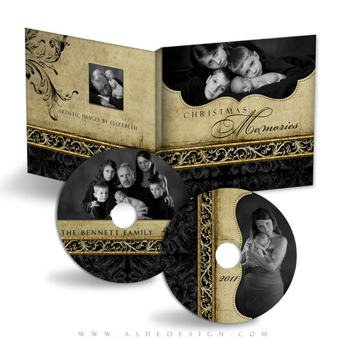 CD/DVD Label & Case Design Set - Rejoice
