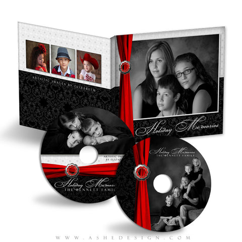 CD/DVD Label & Case Design Set - Top Shelf