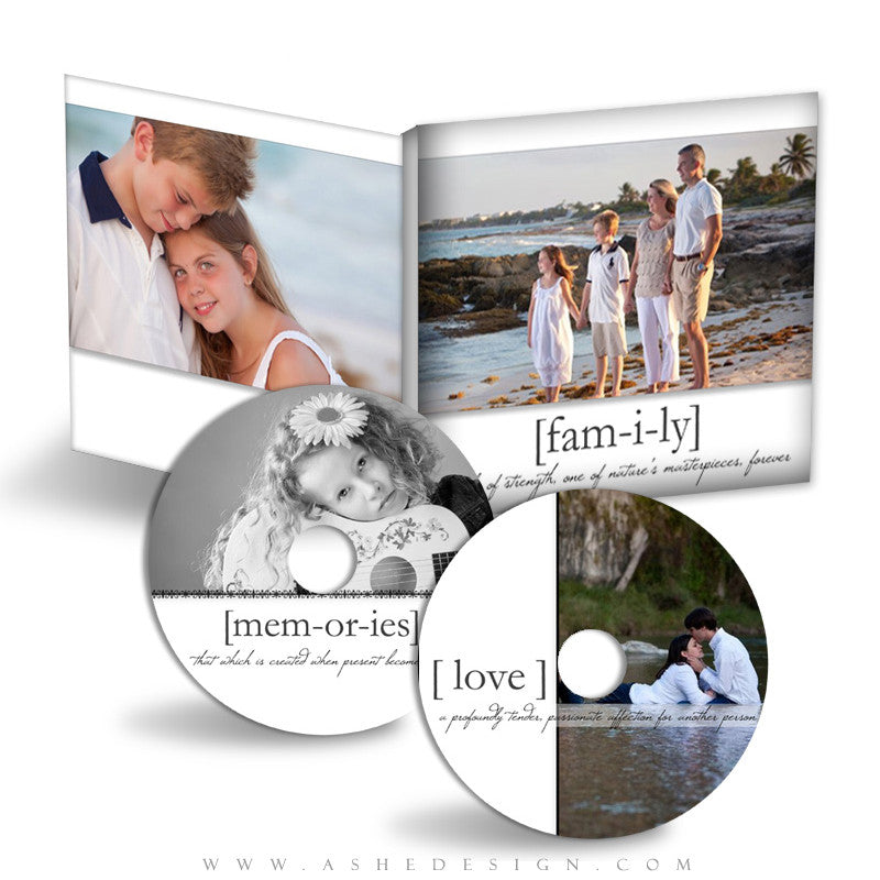 CD/DVD Label & Case Design Set - True Meaning