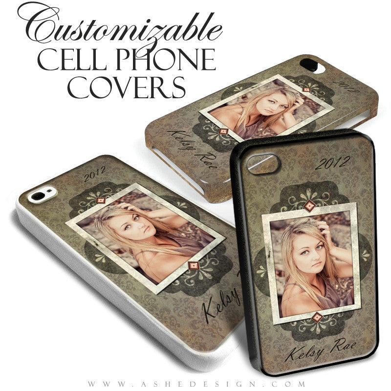 Cell Phone Cover Designs - Shabby Chic