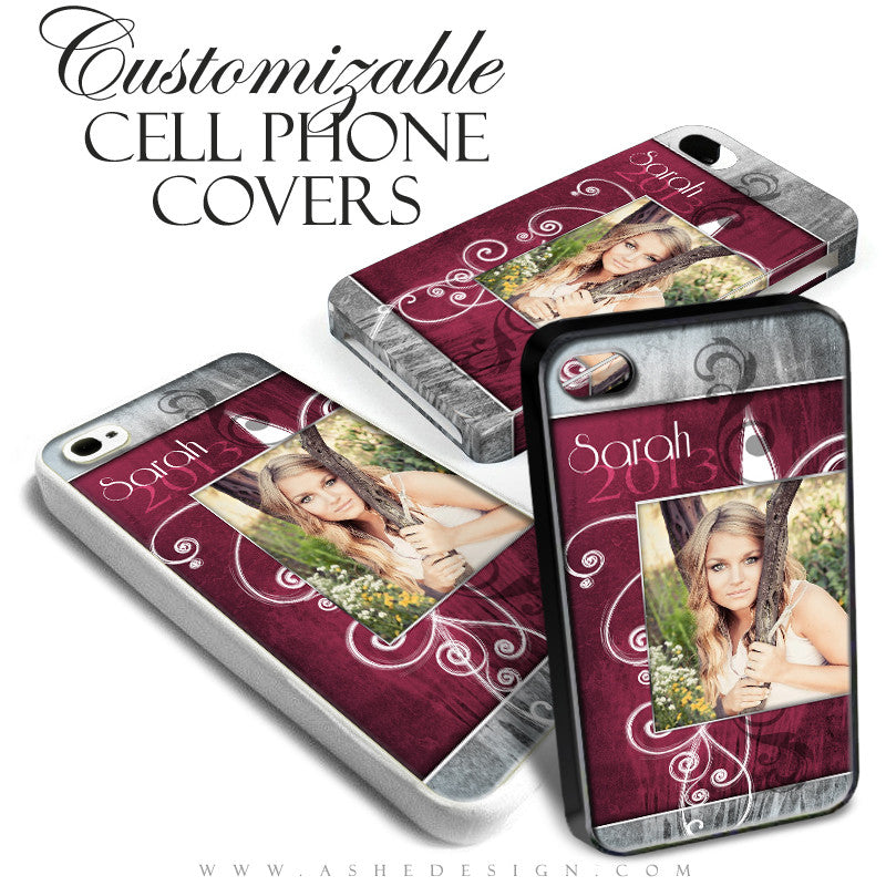 Cell Phone Cover Designs - Steel Magnolia
