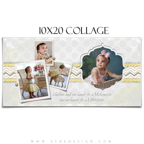 Collage Design (10x20) - Classic Chevron