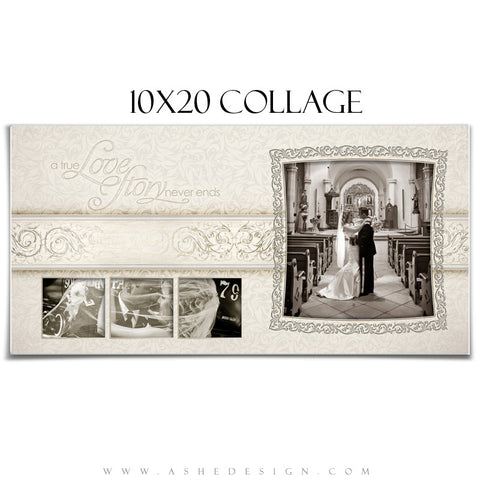 Wedding Collage (10x20) - I Do