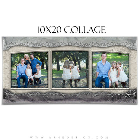 Collage Design (10x20) - Love Is