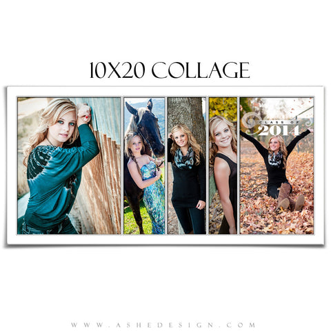 Collage Template (10x20) - Simply Stated