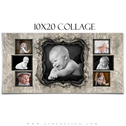 Collage Design (10x20) - Timeless Beauty
