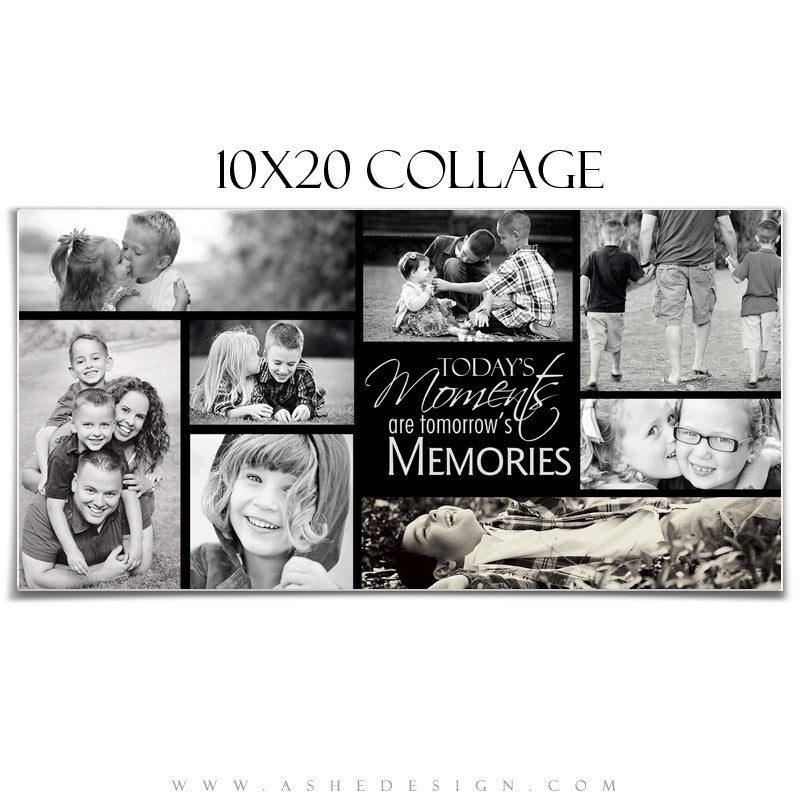 Ashe Design | Tomorrow's Memories 10x20 Photography Template