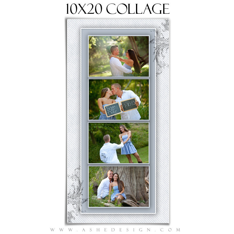 Wedding Collage (10x20) - Wings Of Love