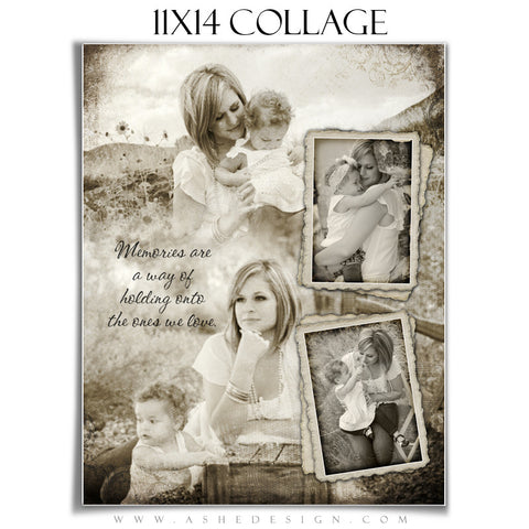 Collage Design (11x14) - Antique Fairy Tale