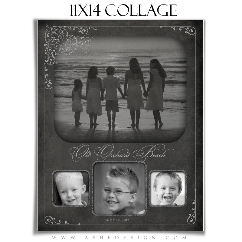 Collage Template (11x14) - Chalkboard