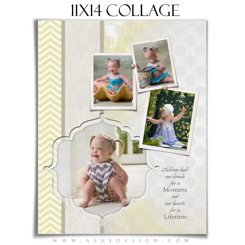 Collage Design (11x14) - Classic Chevron