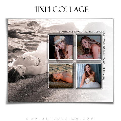 Collage Template(11x14) - Simply Stated