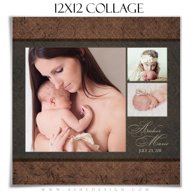 Collage Template 12x12 | Amber Marie