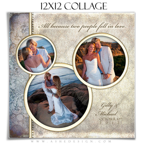 Wedding Collage (12x12) - Something New