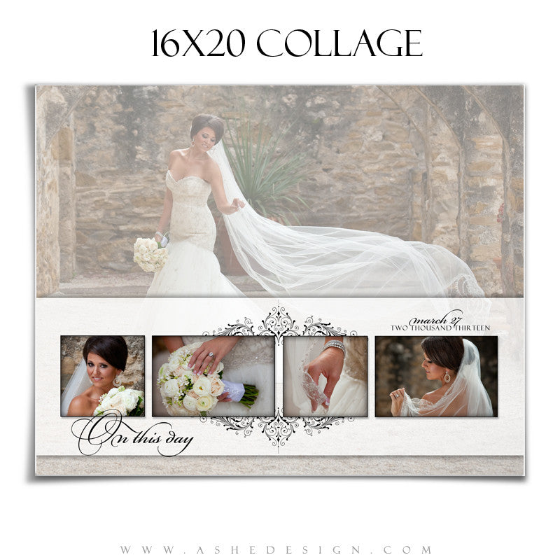 Ashe Design | Collage Template 16x20 | Simply Classic