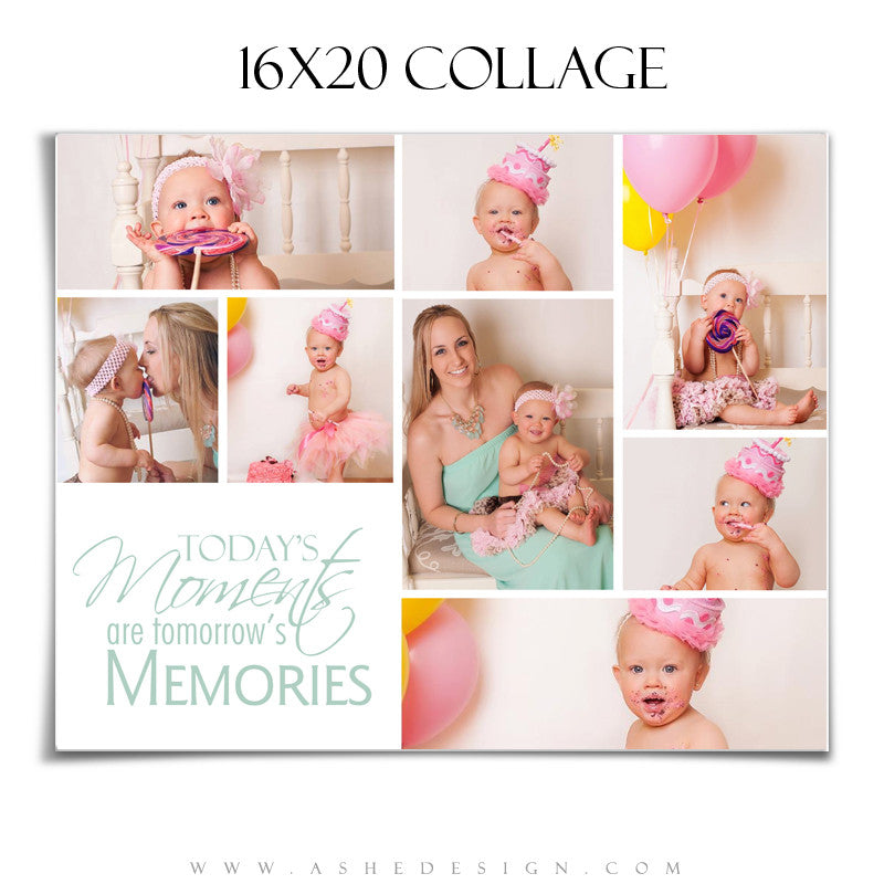 Ashe Design | Tomorrow's Memories 16x20 Photography Template
