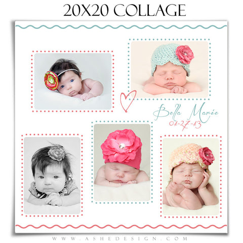Collage Template | Bella Baby