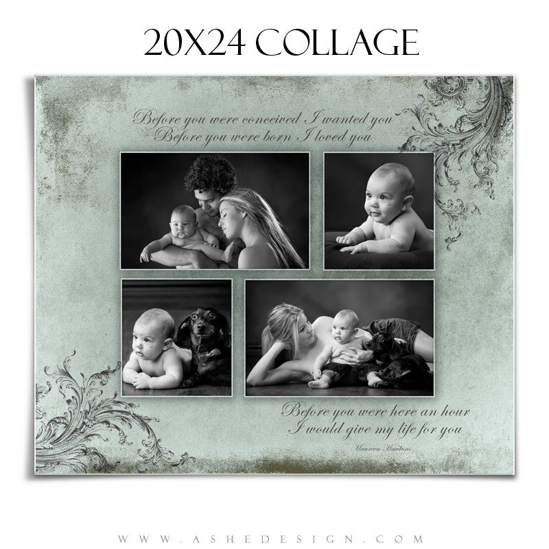 Collage Design (20x24) - A Mother's Love
