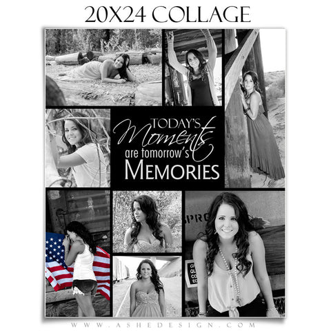 Ashe Design | Tomorrow's Memories 20x24 Photography Template