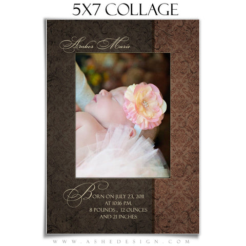 Collage Template 5x7 | Amber Marie